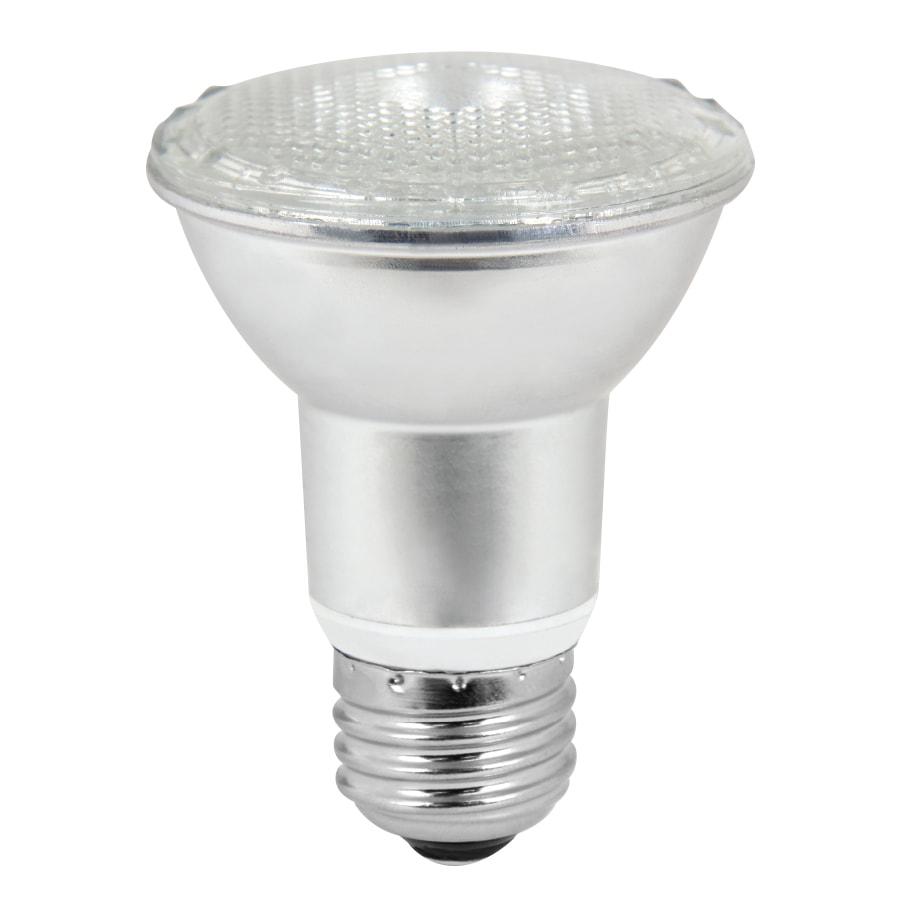 Utilitech 2-Pack 8.5-Watt (50W Equivalent) PAR20 Medium Base (E-26) Warm White Dimmable Indoor LED Flood Light Bulbs