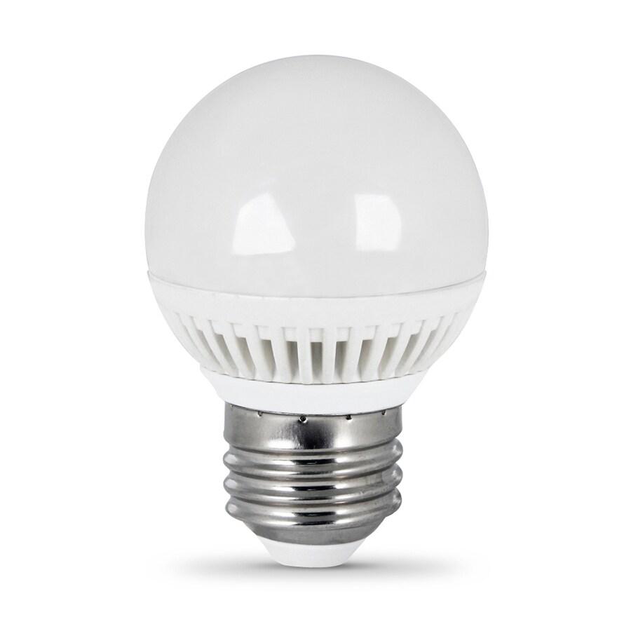 Utilitech 4.8-Watt (40W Equivalent) 3,000K Medium Base (E-26) Warm White Dimmable Decorative LED Light Bulb