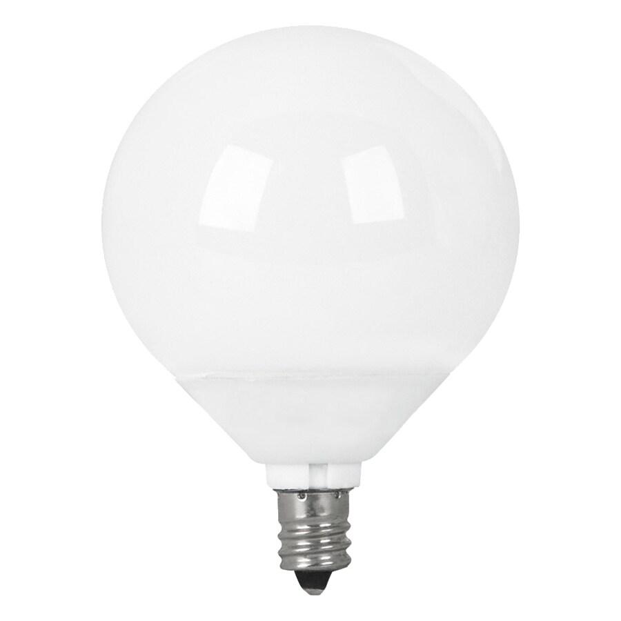 Utilitech 2-Pack 9-Watt (40W Equivalent) 2,700K Medium (E-26) Base Soft White Decorative CFL Bulbs