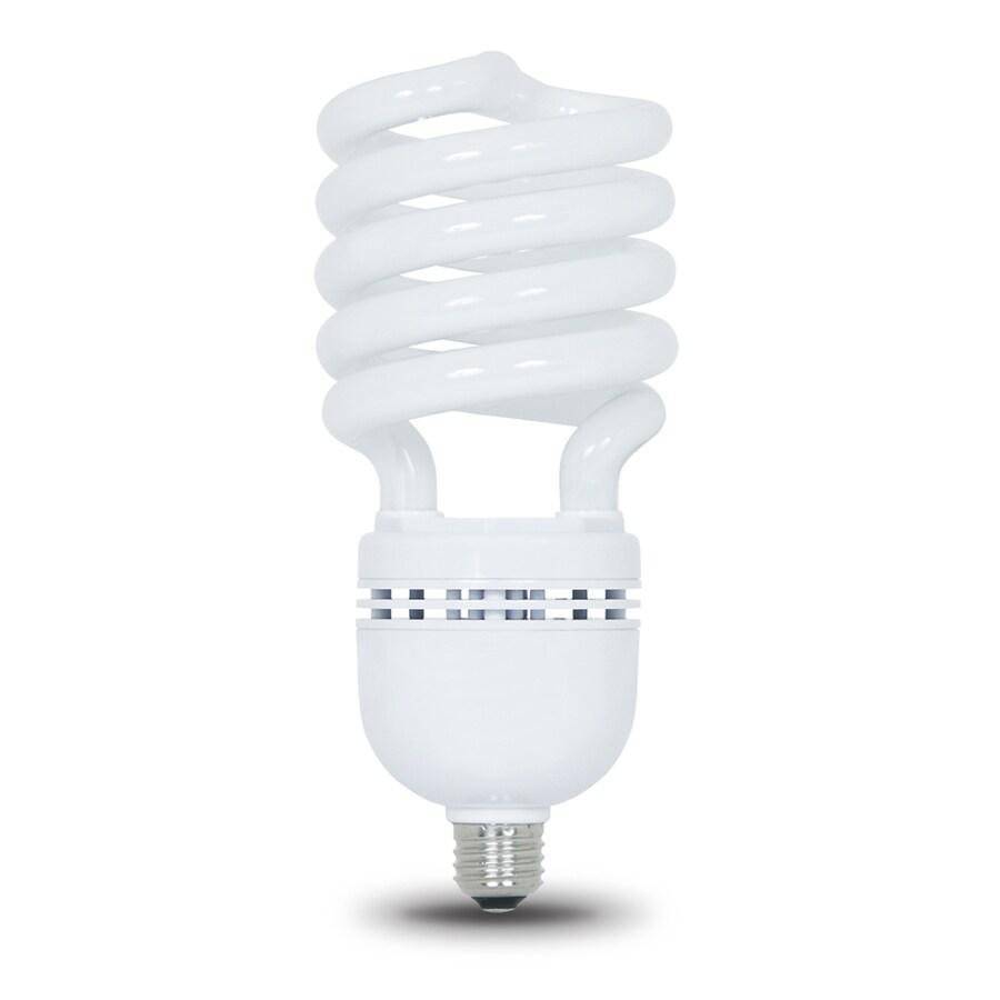 Shop Utilitech 300w Equivalent Soft White Spiral Cfl Light Fixture Light Bulb At