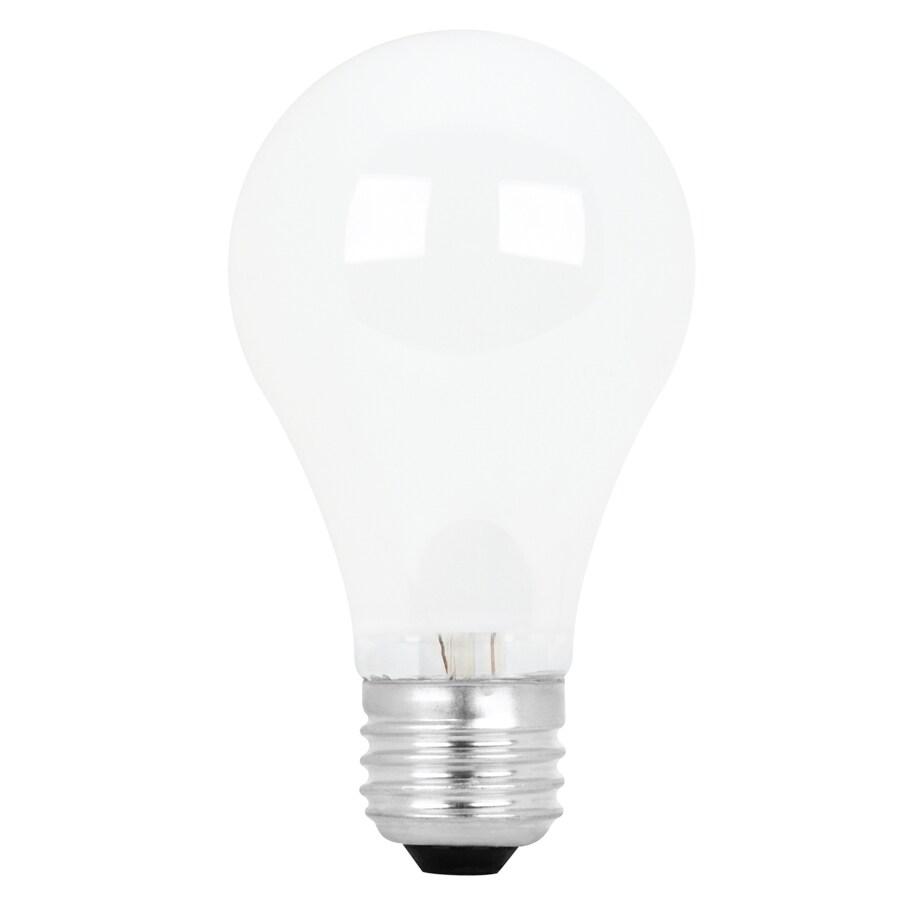 Utilitech 4-Pack 60-Watt A19 Medium Base Soft White Incandescent Light Bulbs