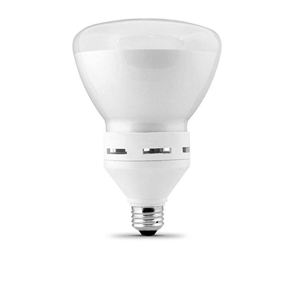 Utilitech 23-Watt (120W Equivalent) 2,700K BR40 Medium Base (E-26) Soft White Dimmable Flood Light CFL Bulb