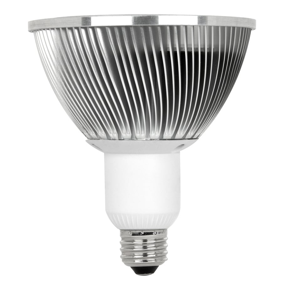 Utilitech 13.5-Watt (65W) PAR30 Longneck Medium Base Warm White Outdoor LED Flood Light Bulb ENERGY STAR