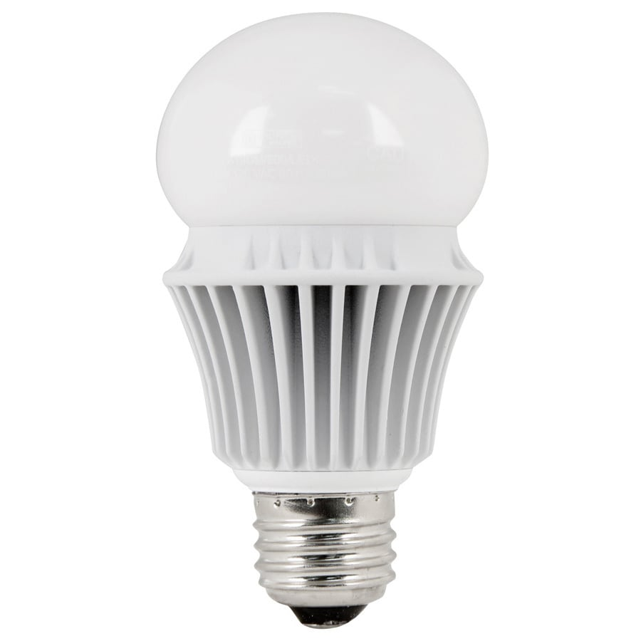 Utilitech Pro 9.8-Watt (60 W Equivalent) A19 Medium Base Warm White (3000K) Indoor LED Bulb