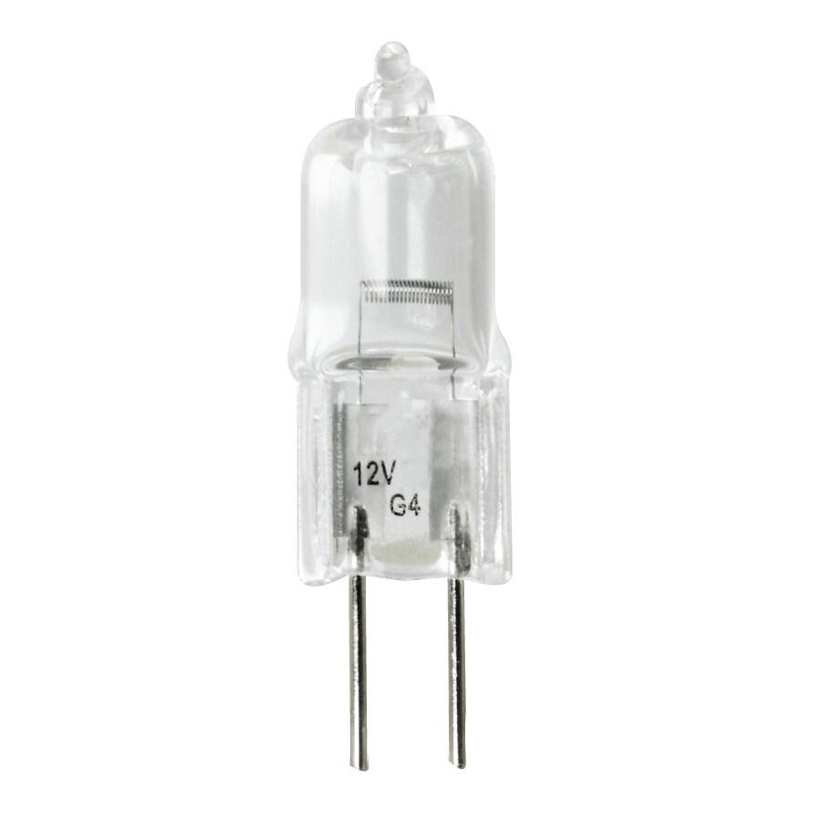Feit Electric 10-Watt T3 Bright White Outdoor Decorative Halogen Light Bulb
