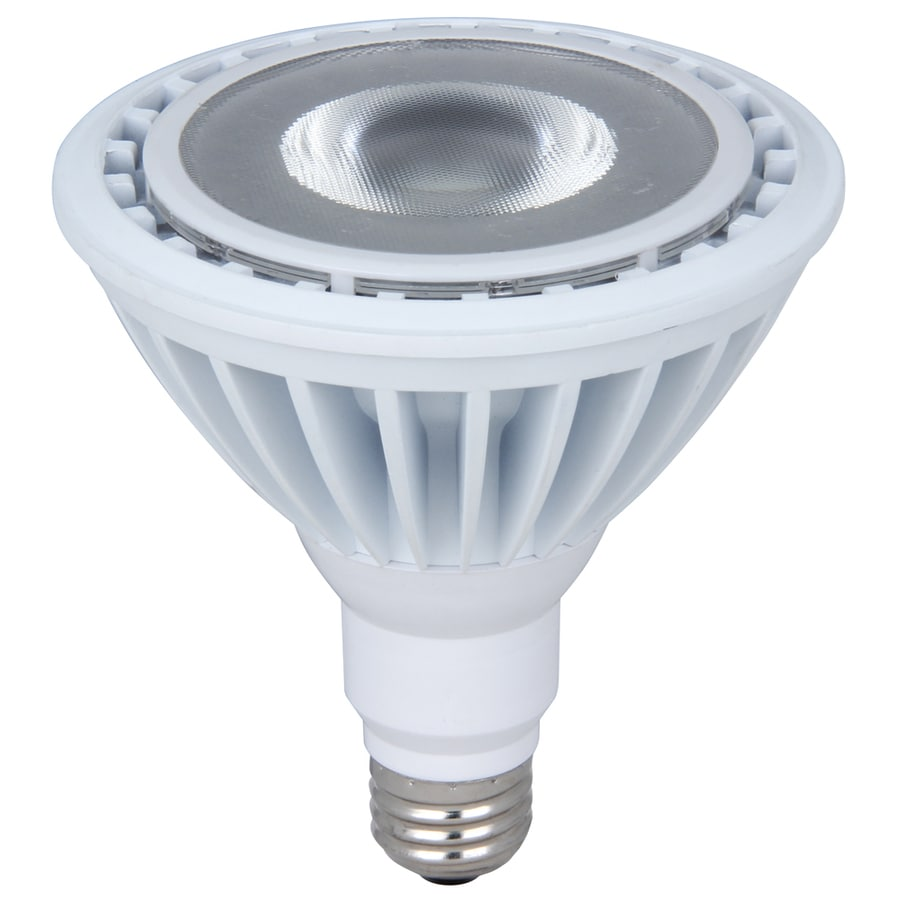 Utilitech 90-Watt PAR38 Medium Base Warm White Outdoor LED Flood Light Bulb