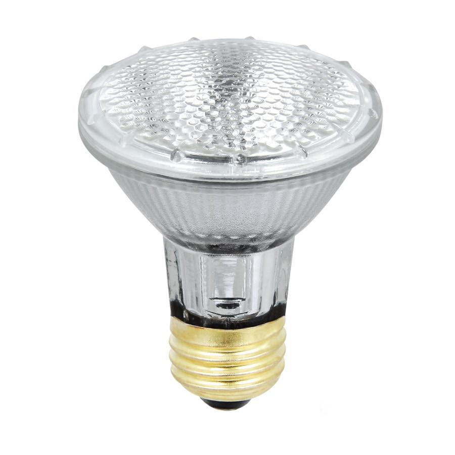 Utilitech 2-Pack 38-Watt Xenon Par20 Medium Base (E-26) Base Soft White Indoor/Outdoor Halogen Flood Light Bulb