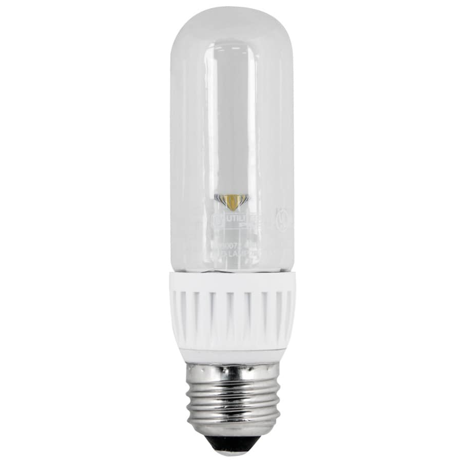 Shop utilitech 3 watt 25w equivalent 3 000k medium base for Corrispondenza led watt