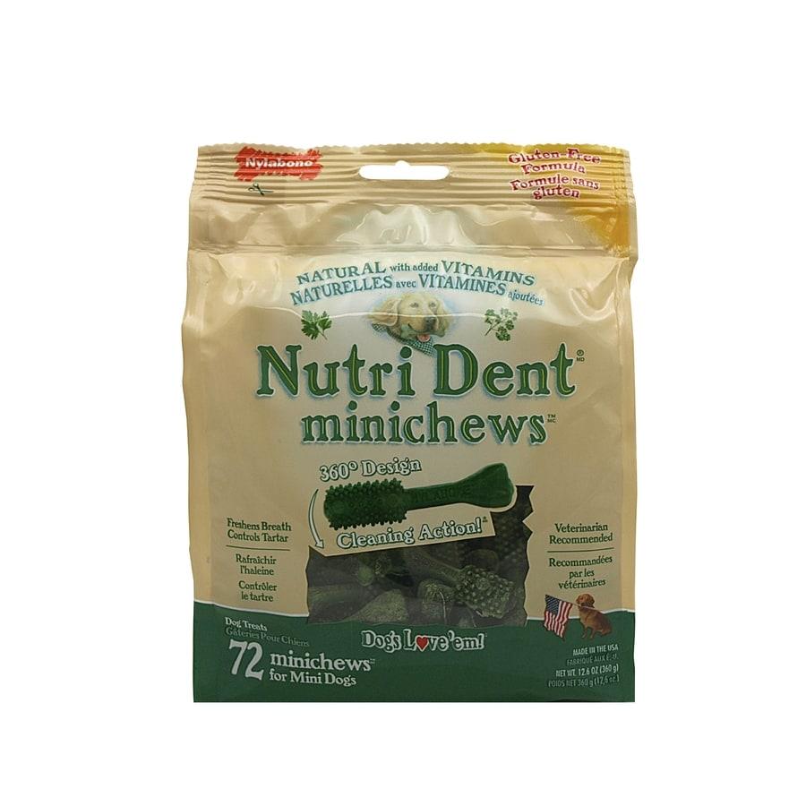 Nylabone 12.6-oz Gluten-Free Natural-Flavor Dental Treats