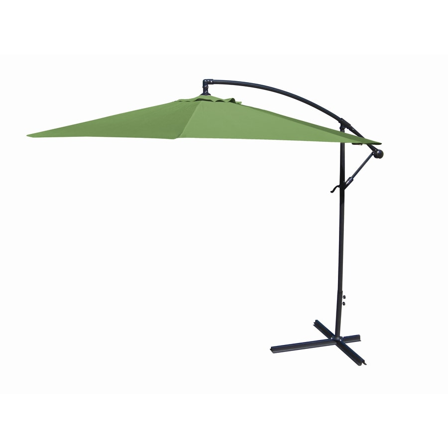 10-ft Olive Round Patio Umbrella