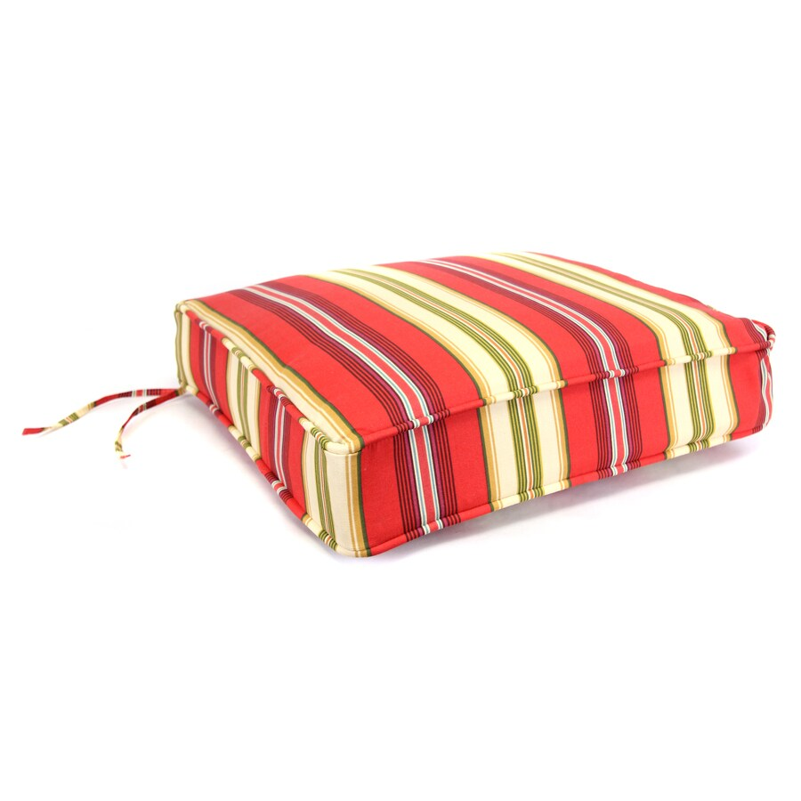 Gamali Lipstick Stripe Cushion For Deep Seat Chair