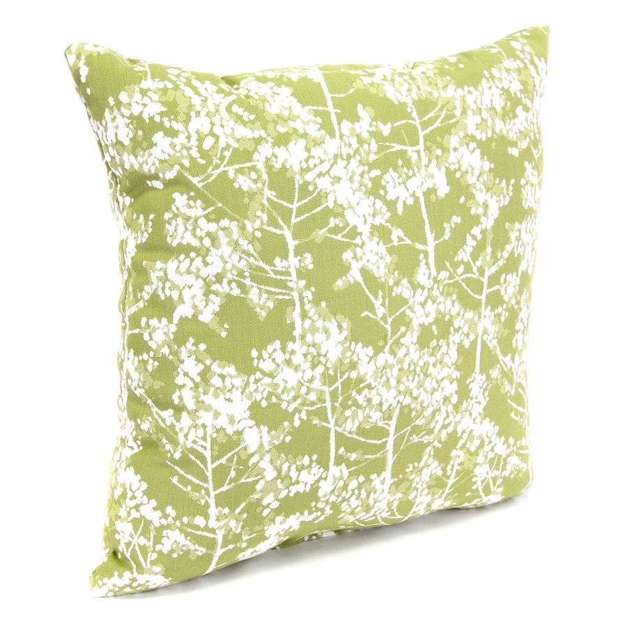 Shop Mystique Aloe Floral Square Outdoor Decorative Pillow at Lowes.com