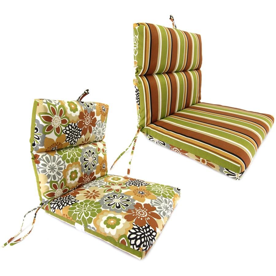 Jordan Manufacturing Camilla Martindale Stripe Maple Floral Cushion For Universal