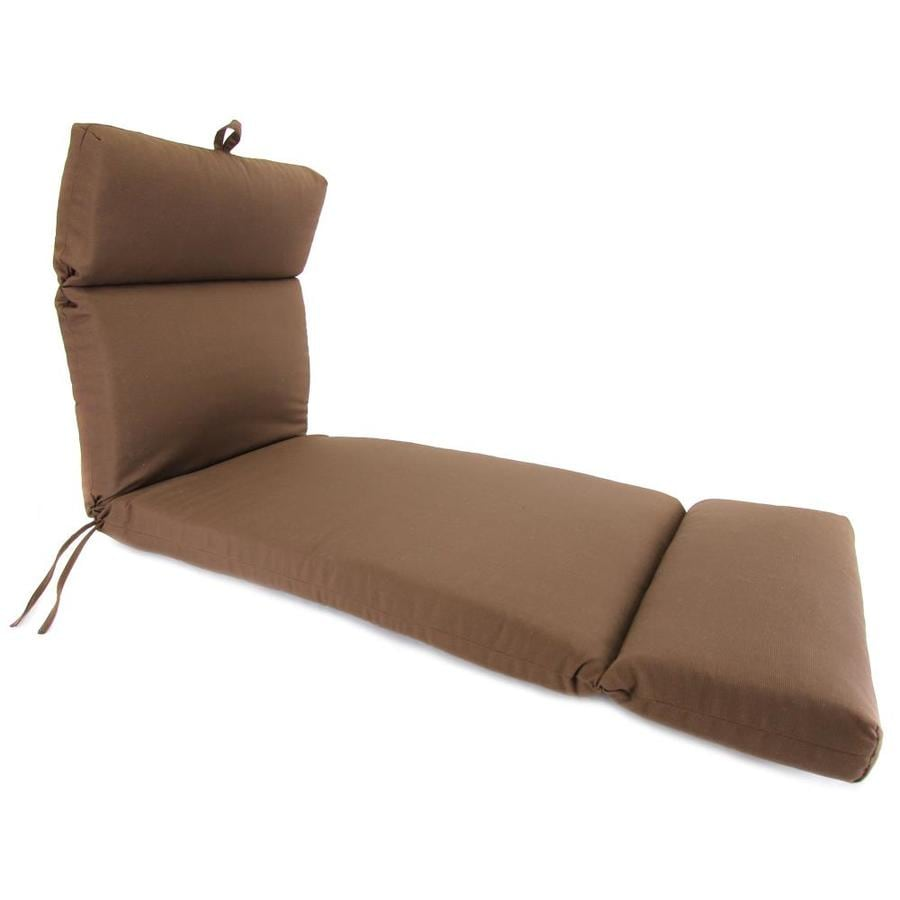 Jordan Manufacturing Sparkle Coffee Texture Cushion For Chaise Lounge