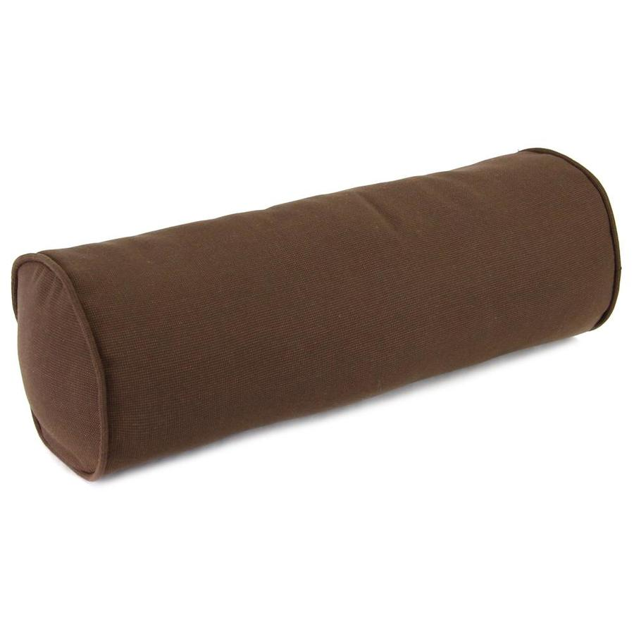 Jordan Manufacturing 6-in W x 18-in L Sparkel Coffee Oblong Indoor Decorative Complete Pillow