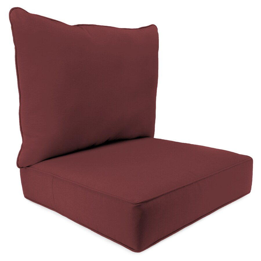 Jordan Manufacturing Fresco Lipstick Solid Cushion For Deep Seat Chair