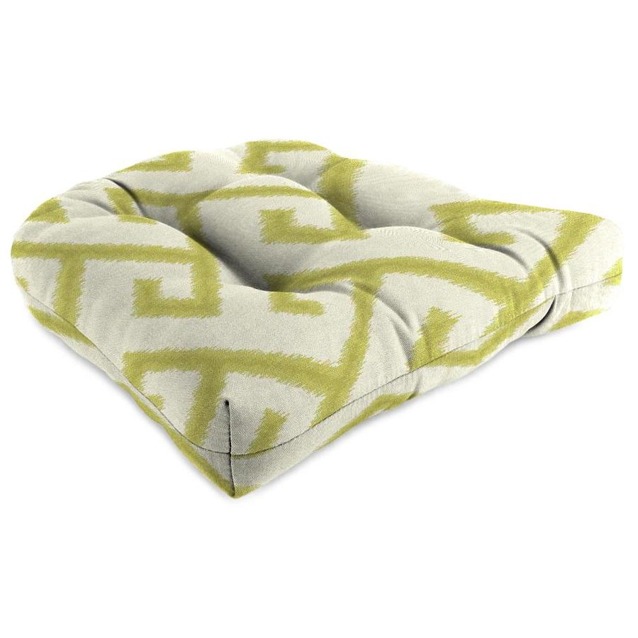 Sunbrella El Greco Avocado Geometric Cushion For Universal