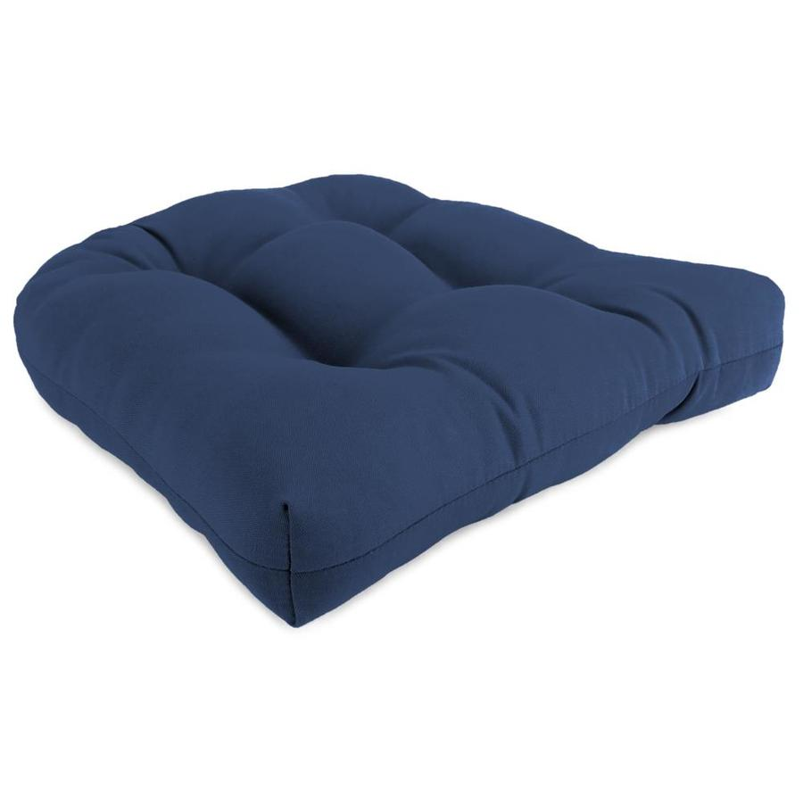 Sunbeam Canvas Navy Solid Cushion For Universal