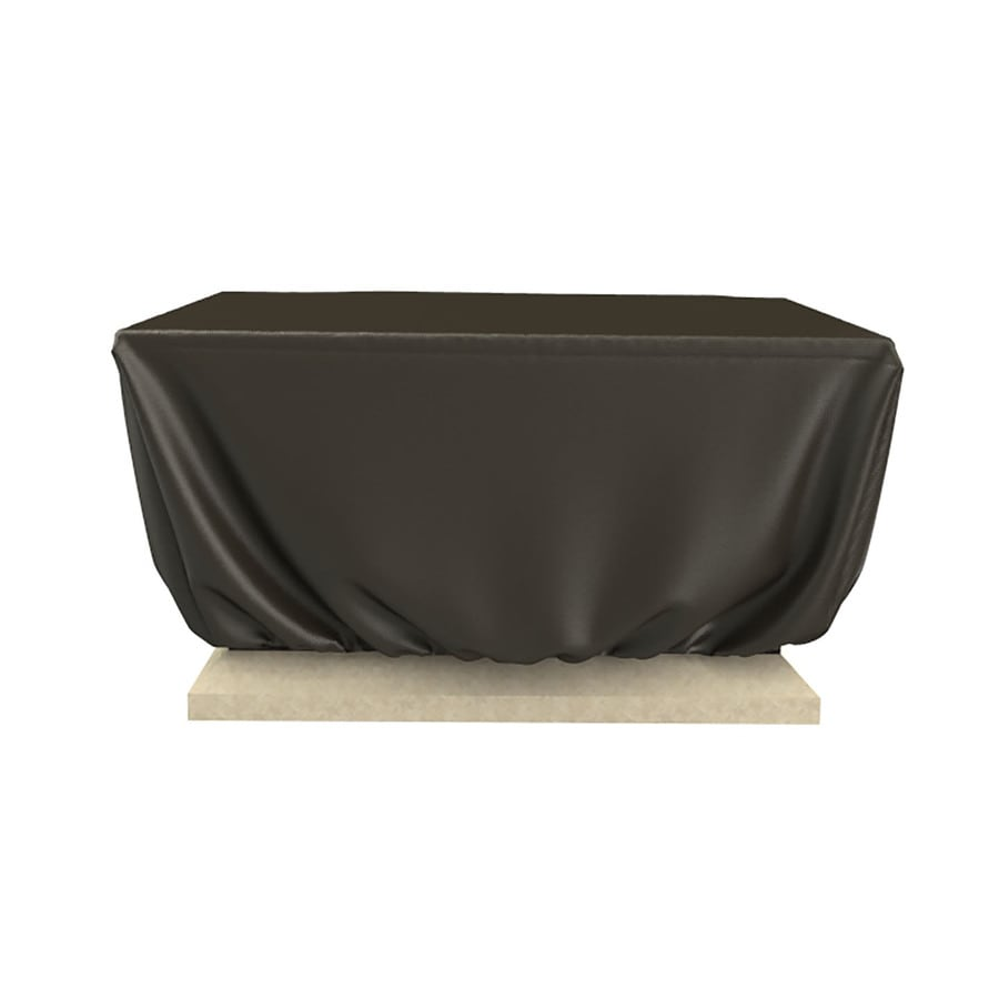 Rust-Oleum 18-in Charcoal Square Firepit Cover