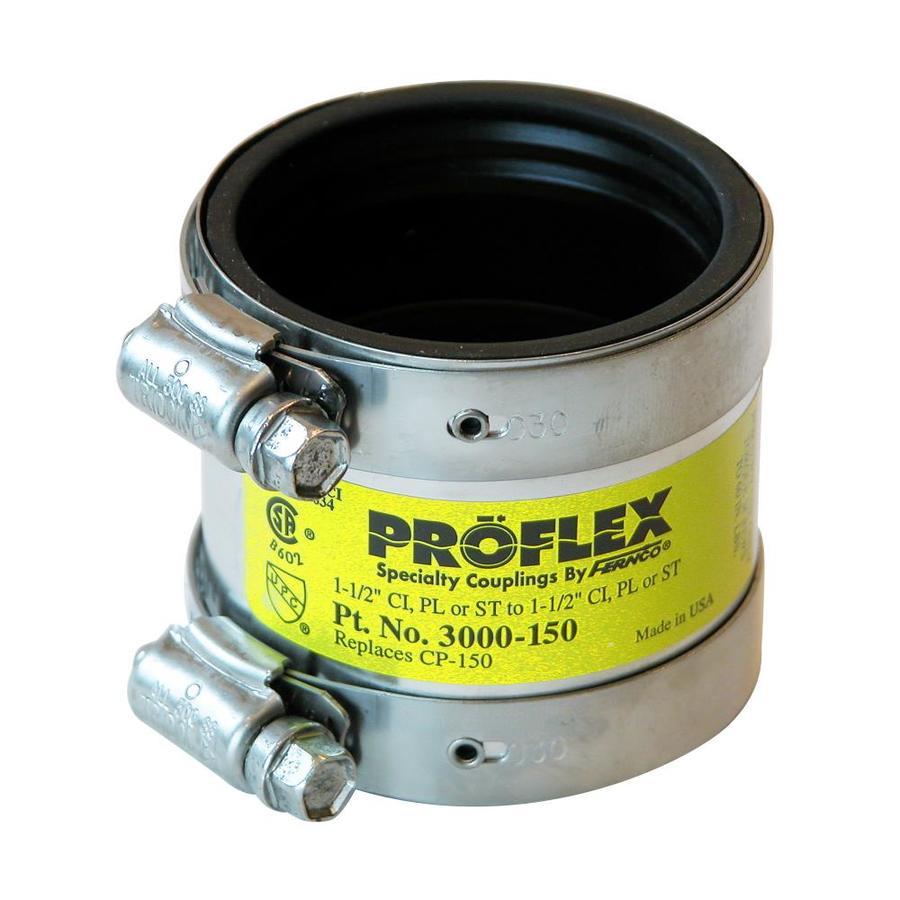 1.5 x 1.5 ProFlex Coupling 1.5 Copper to 1.5 Copper
