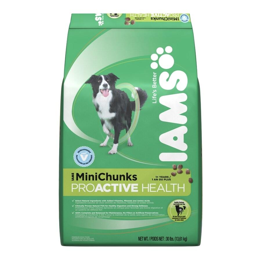 Iams 30-lbs ProActive Health MiniChunks All-Natural Adult Dog Food