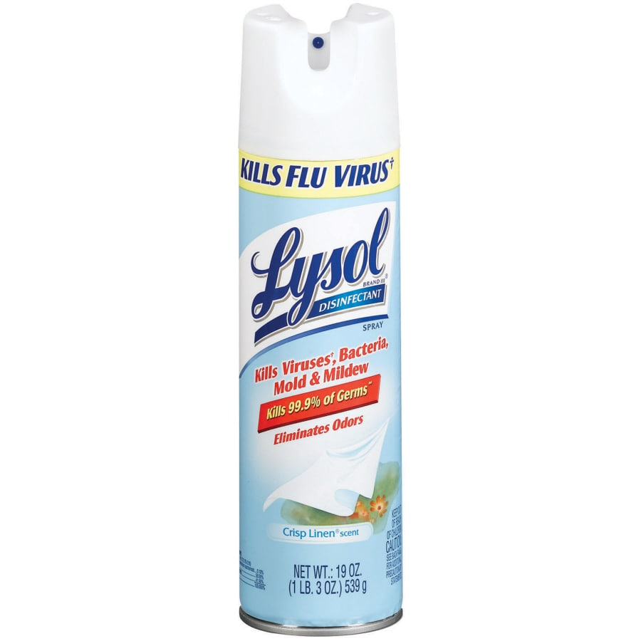 LYSOL 19-oz Crisp Linen Disinfectant Spray