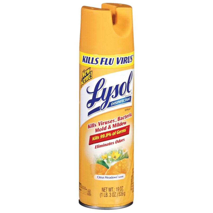 LYSOL 19-oz Citrus Meadows Disinfectant Spray