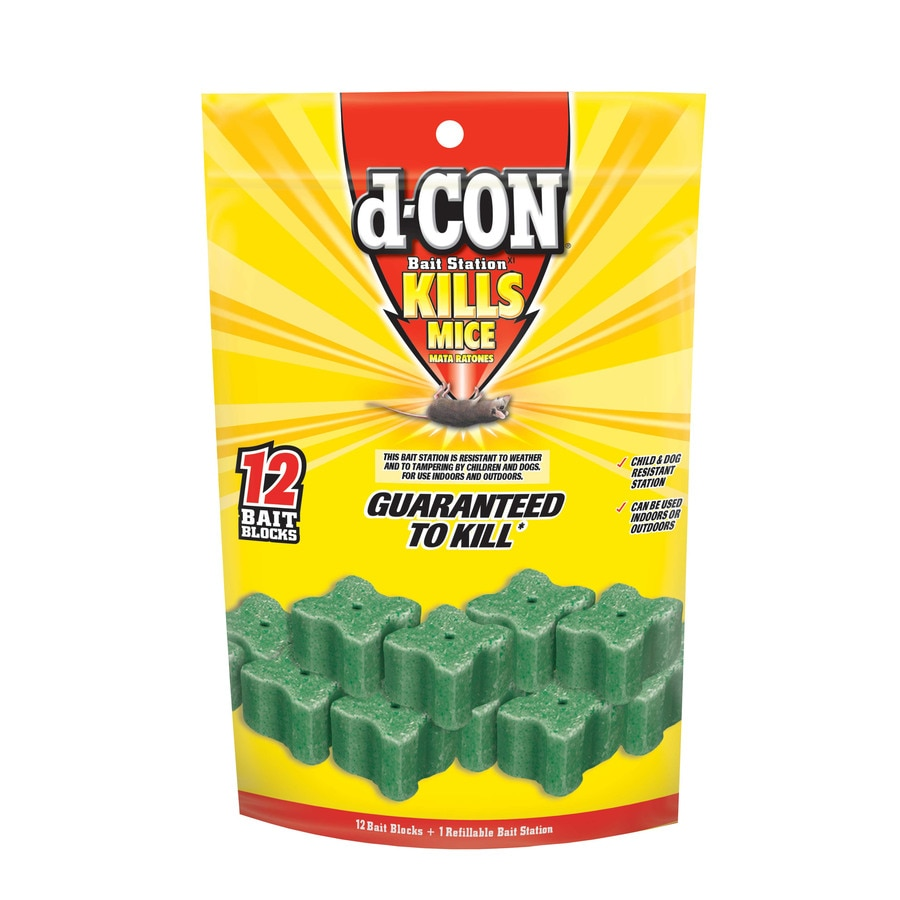 D-CON Indoor/Outdoor Rodent Poison Bait for House Mice