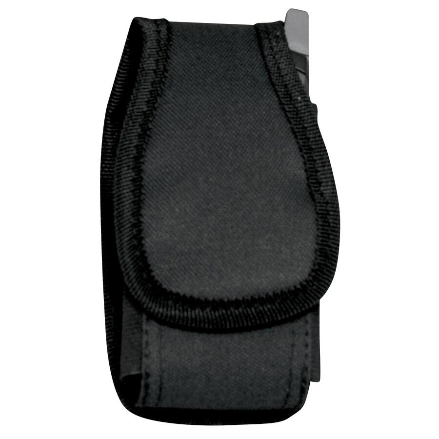 AWP Black Polyester Hook-N-Loop Cell Phone Case