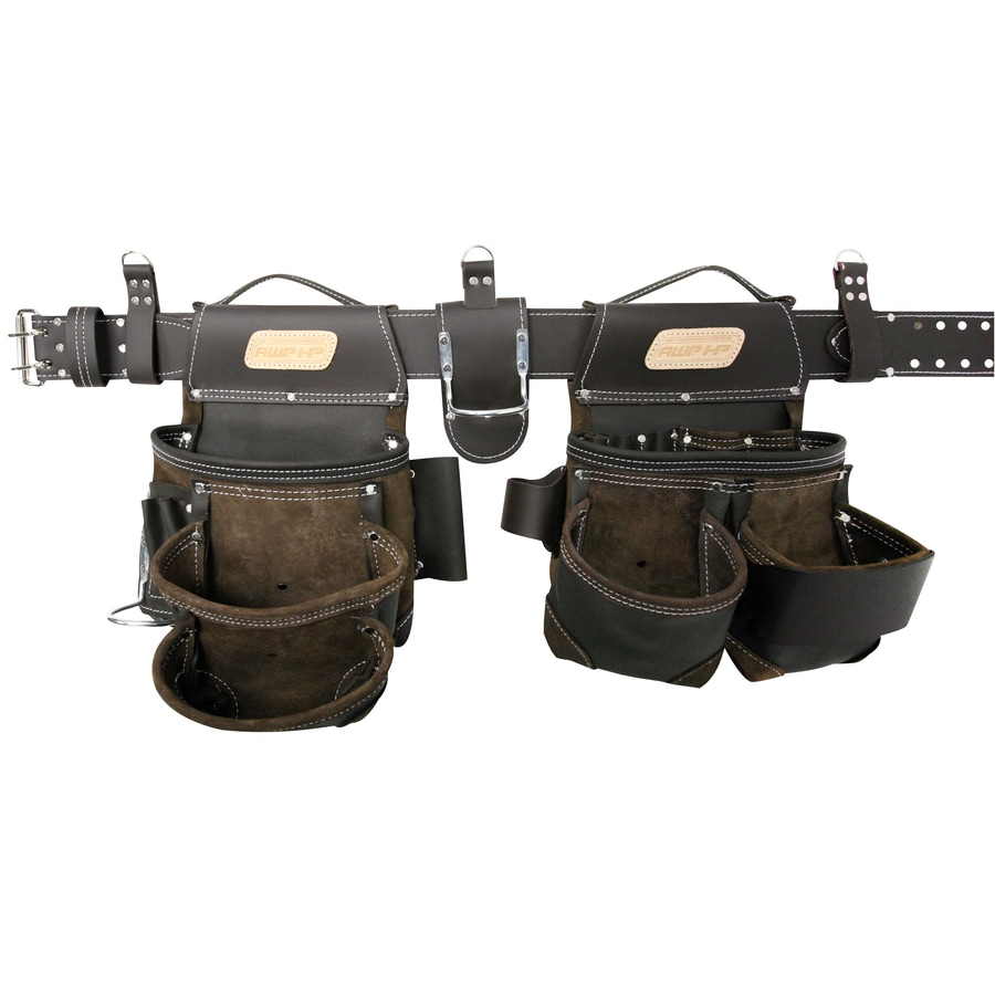AWP HP General Construction Leather Tool Rig