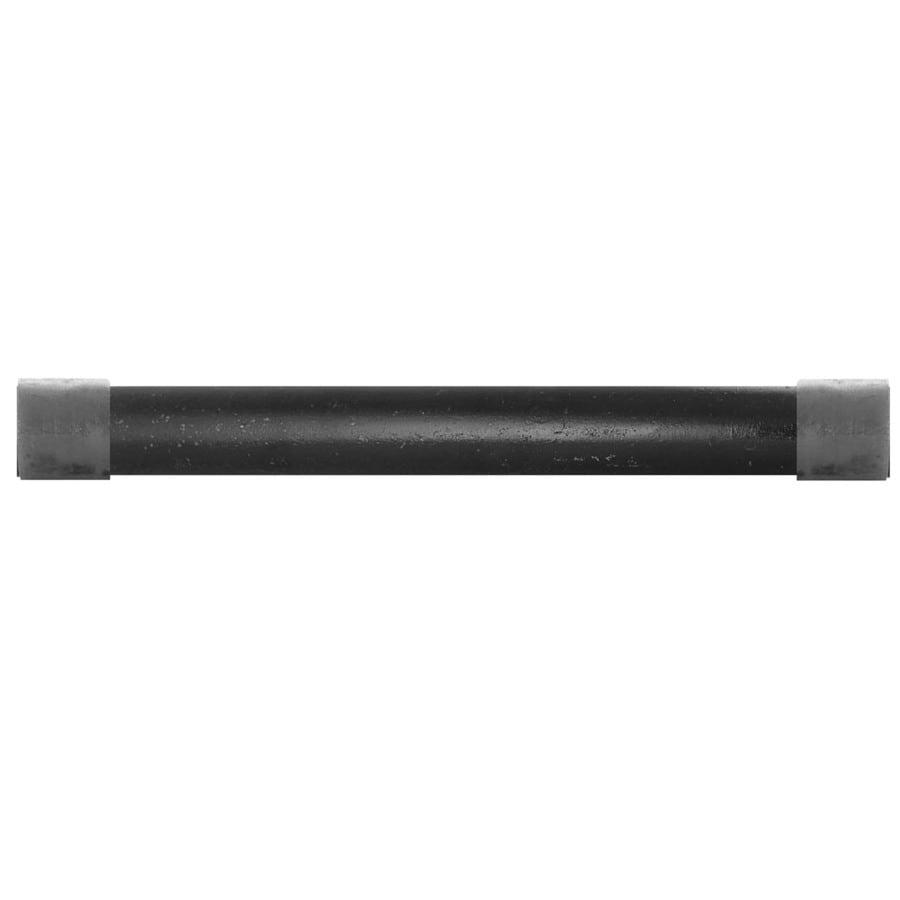 LDR 1-in x 10-ft 150-PSI Black Iron Pipe