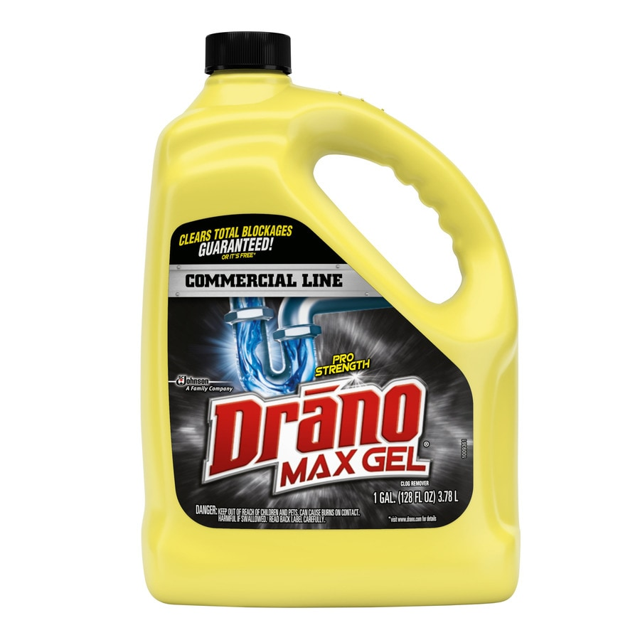Shop Drano Commercial Line 128 Oz Drain Cleaner At Lowes Com