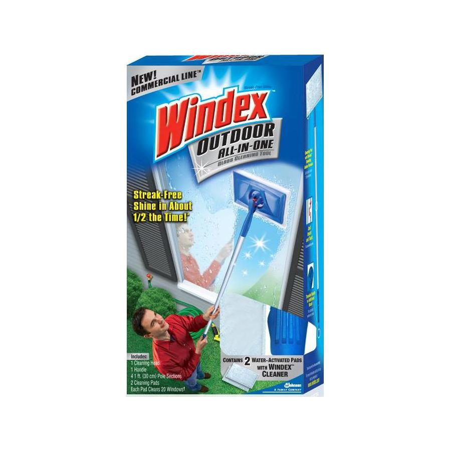 Windex 2-Pack Outdoor All-In-One Window Cleaner