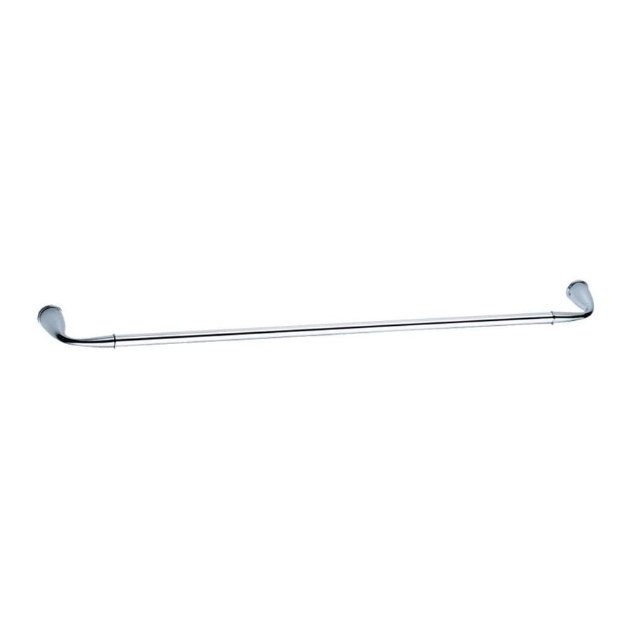 Danze Plymouth Chrome Single Towel Bar (Common: 24-in; Actual: 25.3125-in)