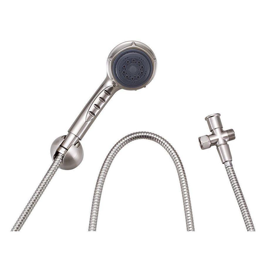 Danze Nourish 3-in 2.5-GPM (9.5-LPM) Brushed Nickel 3-Spray Hand Shower