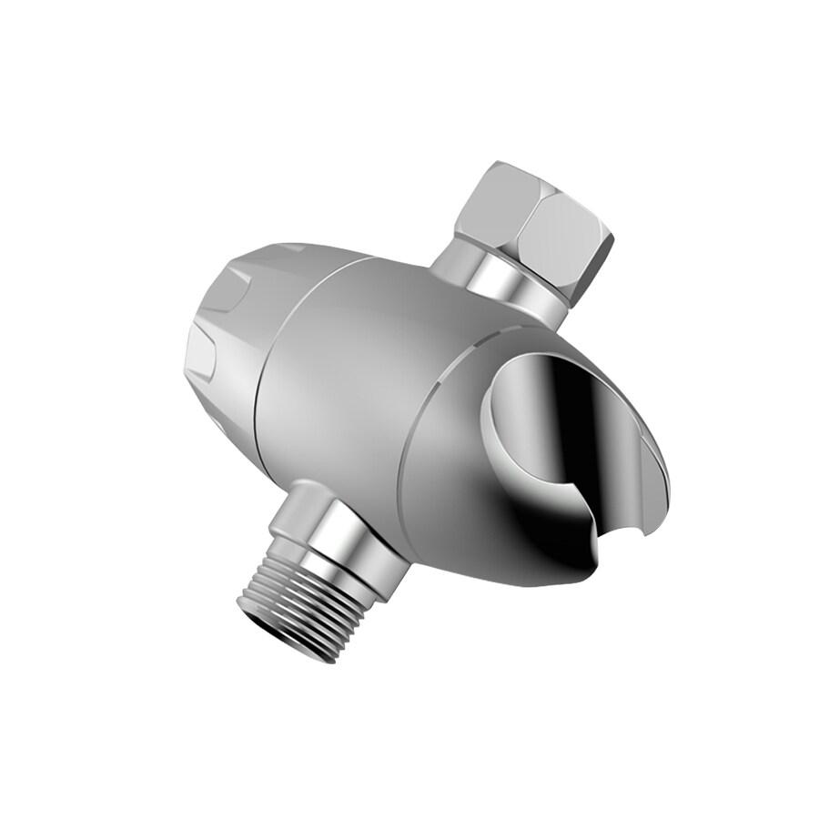 AquaSource Chrome Shower Arm with Diverter