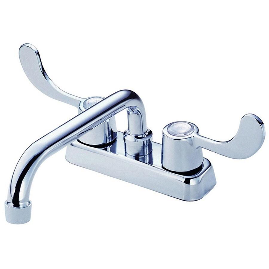 Shop Danze Melrose Chrome 2 Handle Utility Faucet At