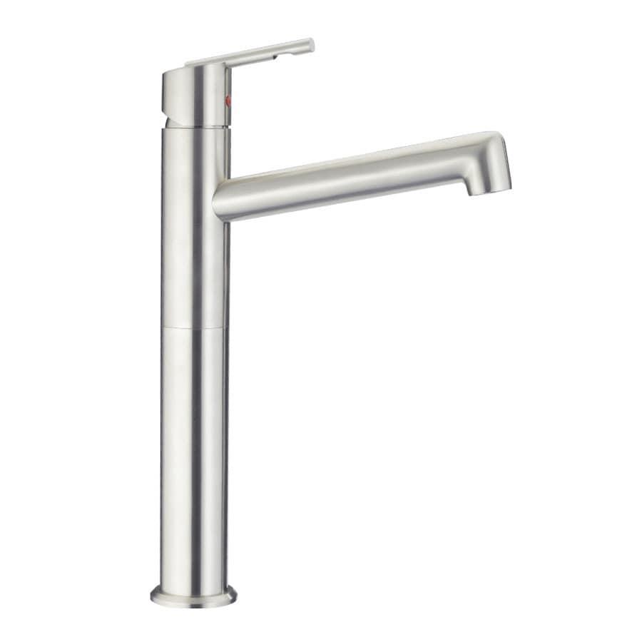 AquaSource Showcase Chrome 1-Handle Single Hole Bathroom Faucet