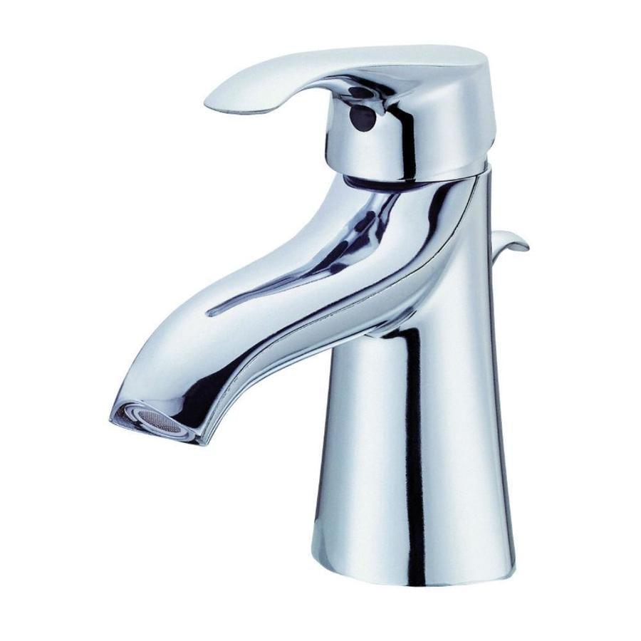 Danze Corsair Chrome 1-Handle Single Hole WaterSense Bathroom Faucet (Drain Included)
