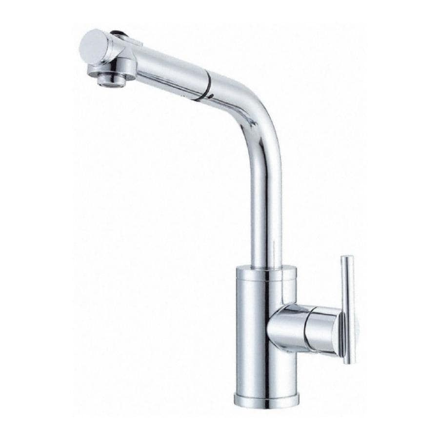 Danze Kitchen Faucet : Shop Danze Parma Chrome 1-Handle Pull-Out Kitchen Faucet at Lowes.com