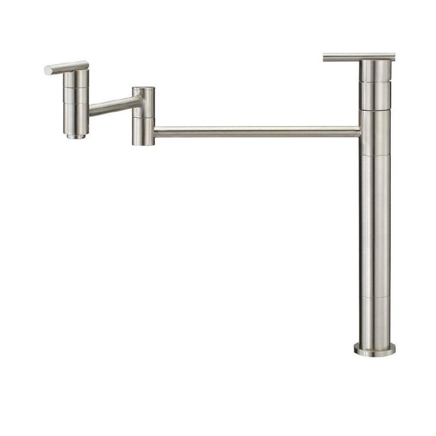 Danze Parma Stainless Steel 2-Handle Pot Filler Kitchen Faucet