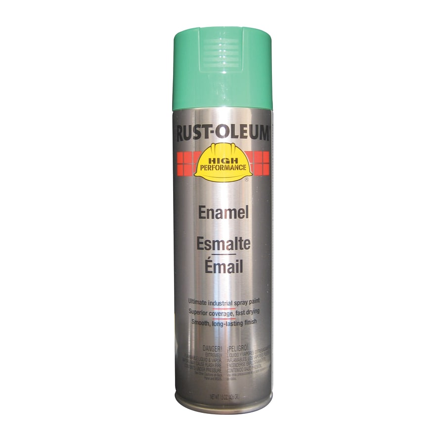 Rust-Oleum High Performance Safety Green Rust Resistant Enamel Spray Paint (Actual Net Contents: 15-oz)