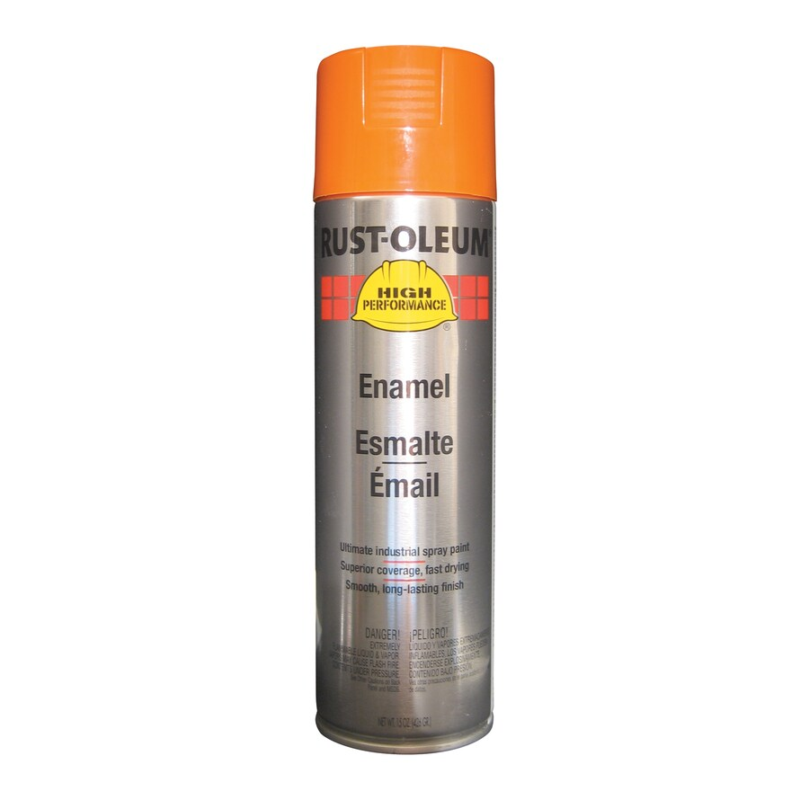 Rust-Oleum High Performance Safety Orange Rust Resistant Enamel Spray Paint (Actual Net Contents: 15-oz)