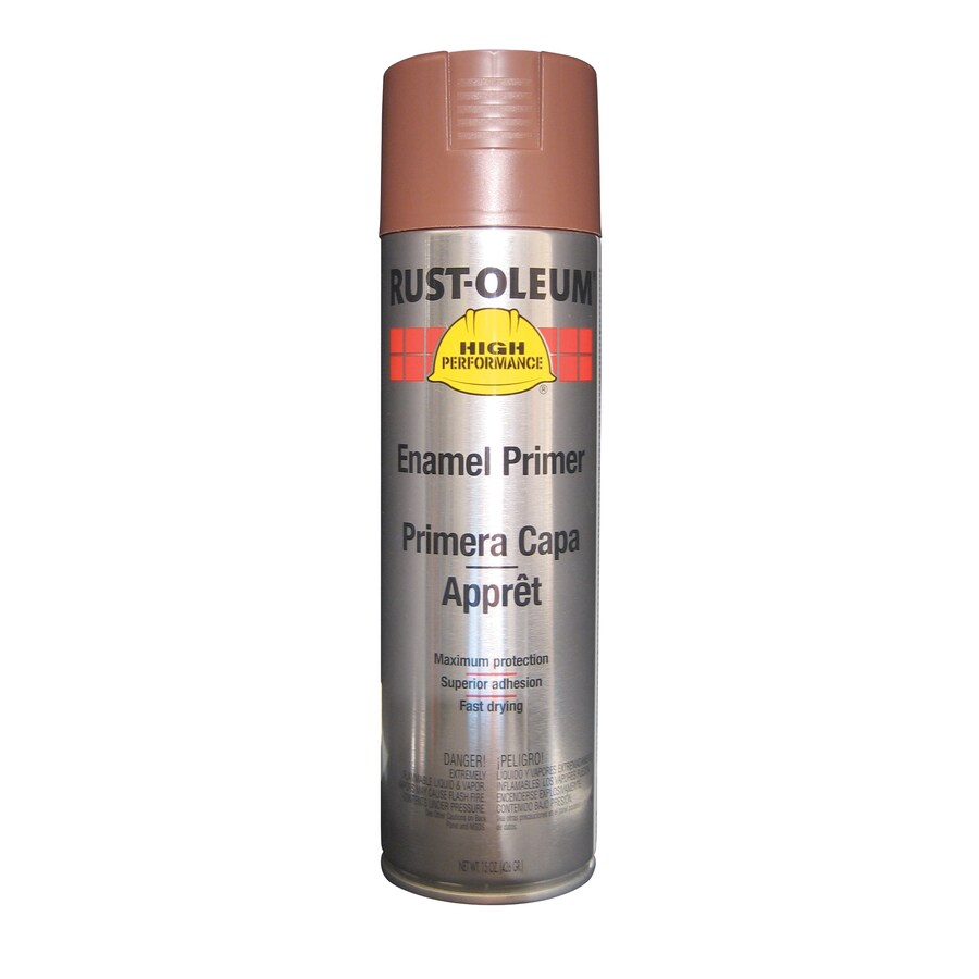 Shop Rust Oleum High Performance Red Primer Rust Resistant Primer Spray Paint Actual Net