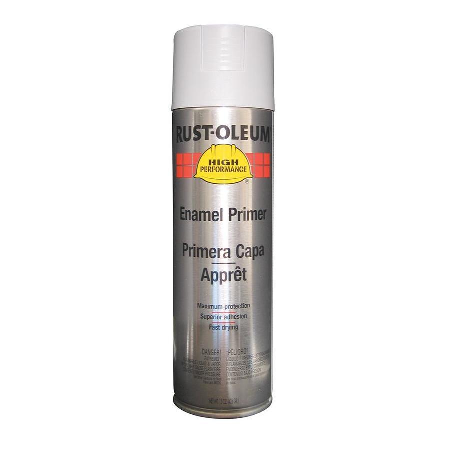 Rust-Oleum High Performance Gray Primer Rust Resistant Primer Spray Paint (Actual Net Contents: 15-oz)