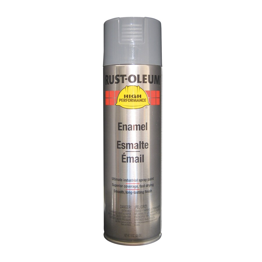 Rust-Oleum High Performance Dark Machine Gray Rust Resistant Enamel Spray Paint (Actual Net Contents: 15-oz)
