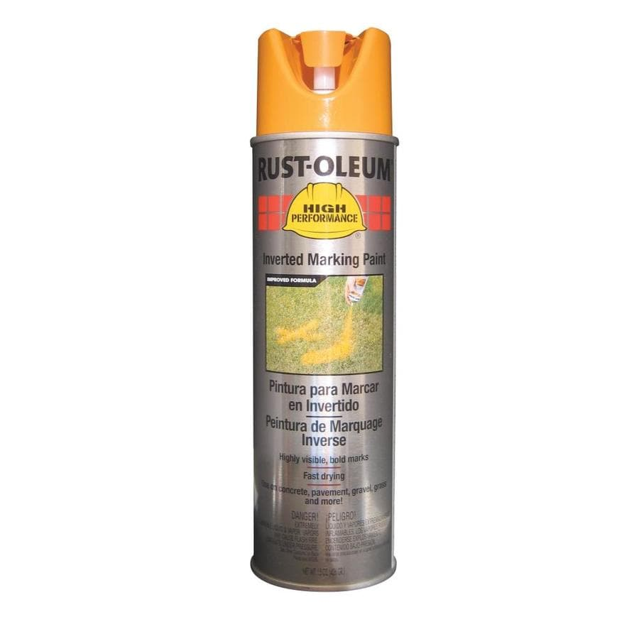 Rust-Oleum High Performance Marking Caution Yellow Fade Resistant Spray Paint (Actual Net Contents: 15-oz)