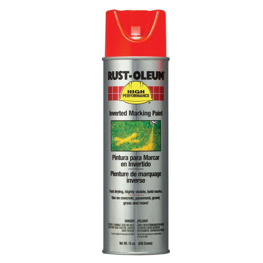 Rust-Oleum High Performance Marking Alert Orange Fade Resistant Spray Paint (Actual Net Contents: 15-oz)