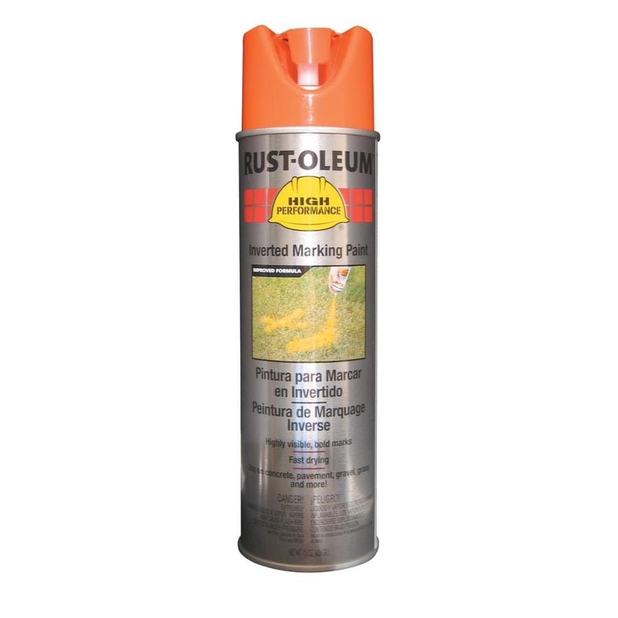 Rust-Oleum High Performance Marking Fluorescent Orange Fade Resistant Spray Paint (Actual Net Contents: 15-oz)