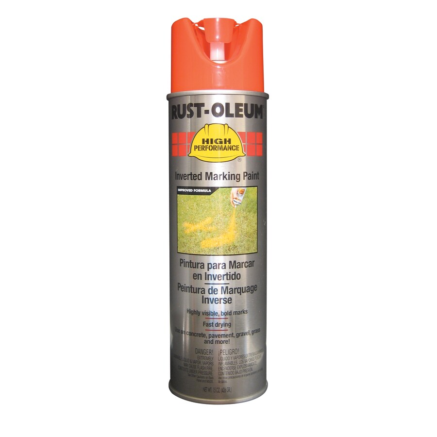Rust-Oleum High Performance Marking Fluorescent Red Orange Fade Resistant Spray Paint (Actual Net Contents: 15-oz)